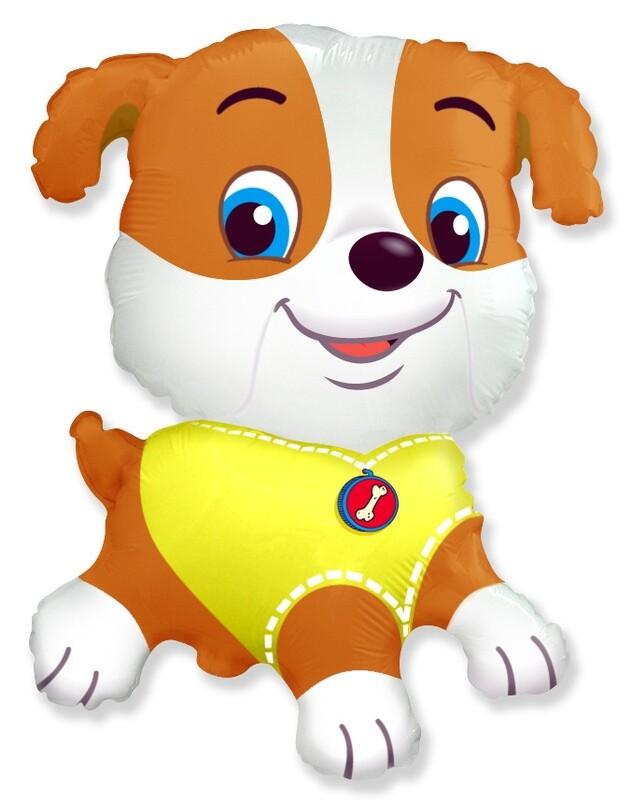 Фигура щенок мальчик