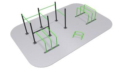 PACK calistenia indoor MULTI-3D