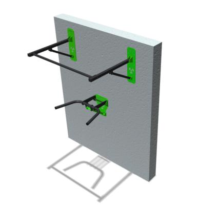 Combo pull up + dips plegable / foldable