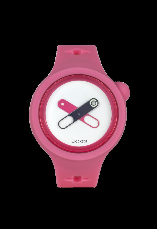 Bubble Gum - Rosa - Orologio Design da Polso Uomo - Donna - Anallergico Silicone 100 %