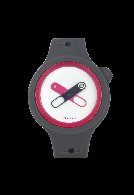 Cool Gray - Grigio Chiaro - Orologio Design da Polso Uomo - Donna - Anallergico Silicone 100 %