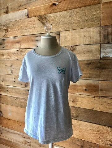 Teal Butterfly T-Shirts