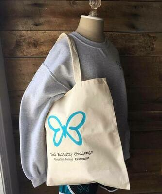Teal Butterfly Bags