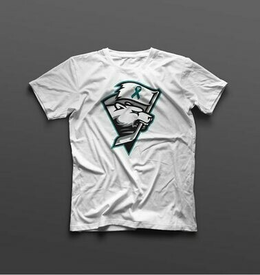 Charlotte Checkers Ovarian Cancer T-Shirt