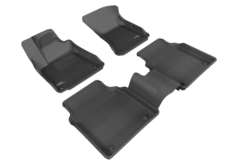 3D MAXpider Complete set Audi A8L (2011-2014) KAGU Car floor Mat backing