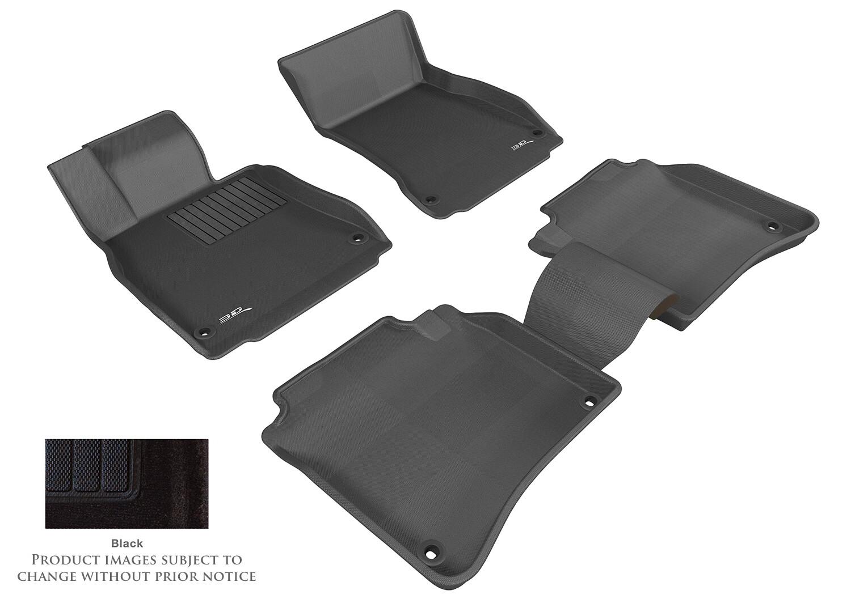 3D MAXpider Complete set MERCEDES-BENZ-MB S CLASS L (W221L) 2007-2013 DUKE CARPET  Car floor Mat backing
