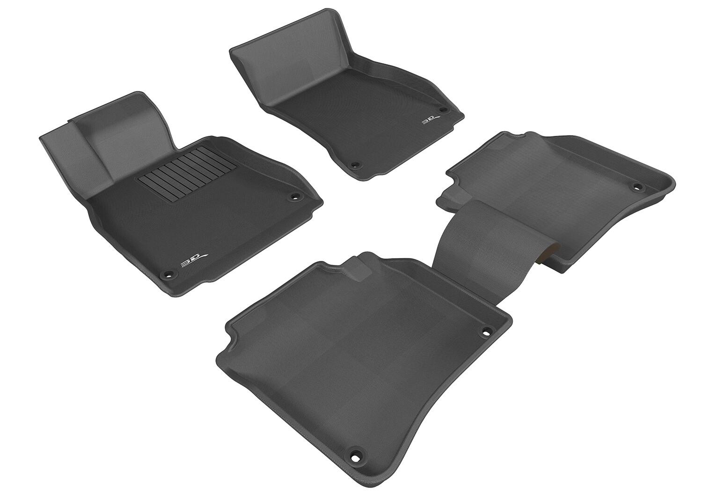 3D MAXpider Complete set MERCEDES BENZ S CLASS Long axis (W222L) 2014-2019 KAGU Car floor Mat backing