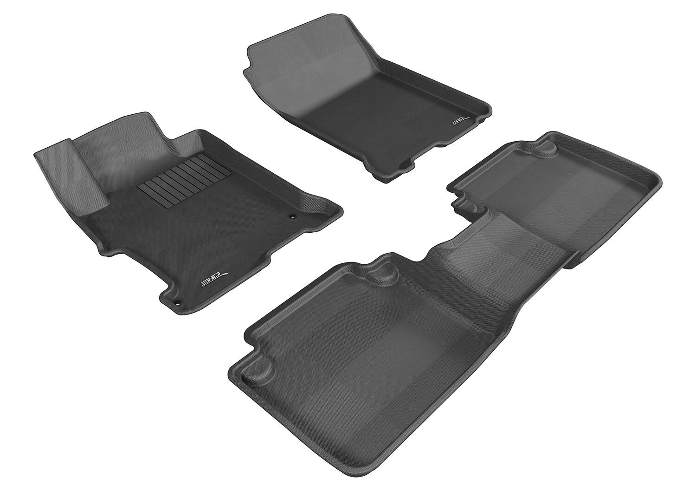 3D MAXpider Complete set HONDA Accord 9 2013-2017 KAGU Car floor Mat backing