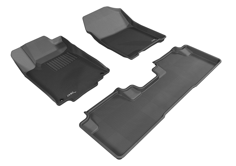 3D MAXpider Complete set HONDA CRV4 2012-2016 KAGU Car floor Mat backing
