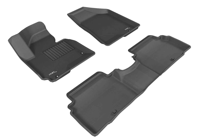 3D MAXpider Complete set KIA Sportage 2011-2015 KAGU Car floor Mat backing