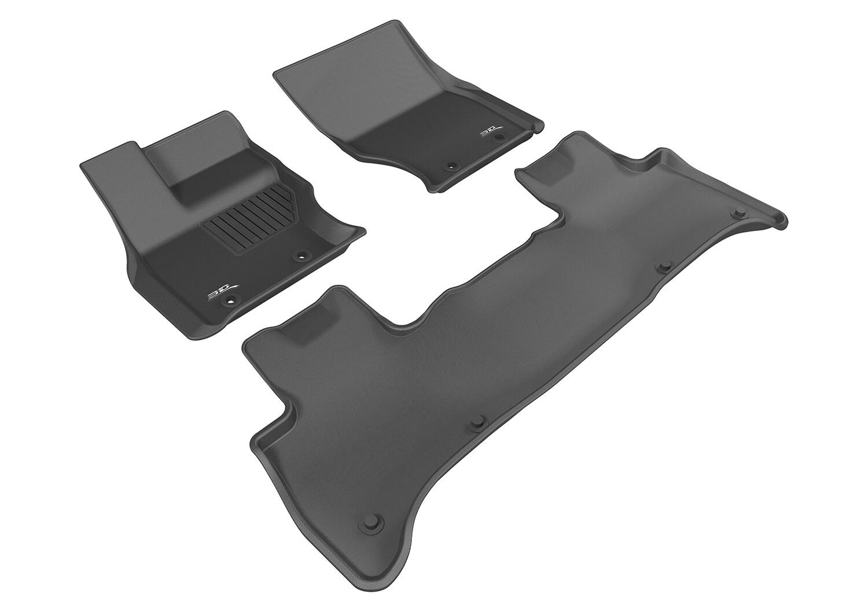 3D MAXpider Complete set LAND ROVER Range Rover HSE (L405) 2013-2018 KAGU Car floor Mat backing
