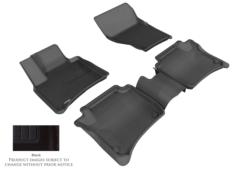 3D MAXpider Complete set PORSCHE Cayenne (958) 2011- 2016 DUKE CARPET Car floor Mat backing