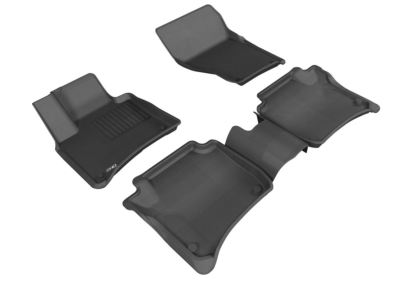 3D MAXpider Complete set PORSCHE CAYENNE(958) 2011-2016 KAGU Car floor Mat backing