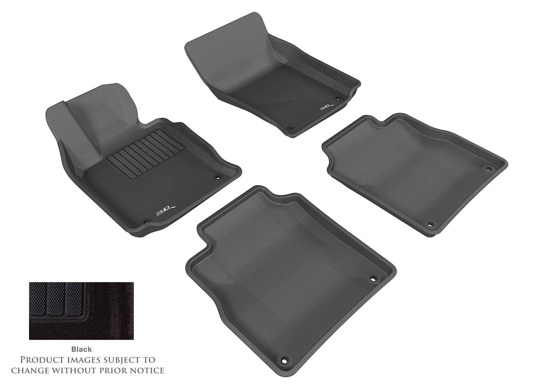 3D MAXpider Complete set PORSCHE Panamera Executive (Long Axis) 2014-2016 Duke CARPET Car floor Mat backing