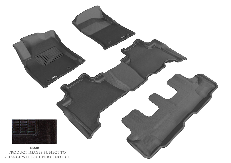3D MAXpider Complete set Land Cruiser Prado J150   Lexus GX 460 (URJ150) (2012-2020) DUKE CARPET Car floor Mat backing