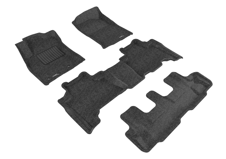 3D MAXpider Complete set TOYOTA PRADO J150 2010-2011 CLASSIC Carpet Car floor Mat Backing