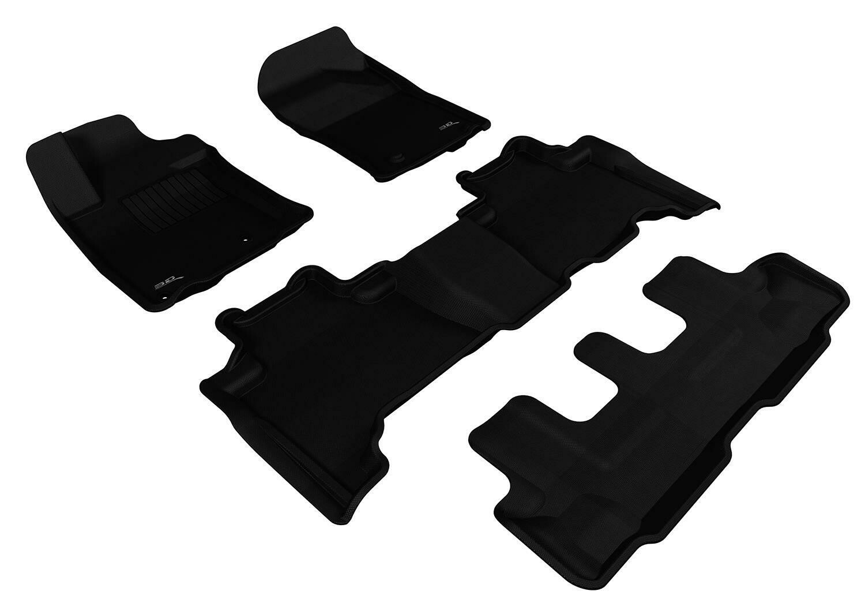 3D MAXpider Complete set TOYOTA PRADO 150 2010-2011 KAGU Car floor Mat backing