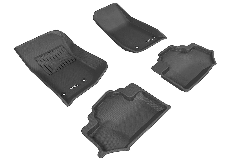 3D MAXpider Complete set JEEP Wrangler 2 Door 2014 - 2018 KAGU Car floor Mat backing