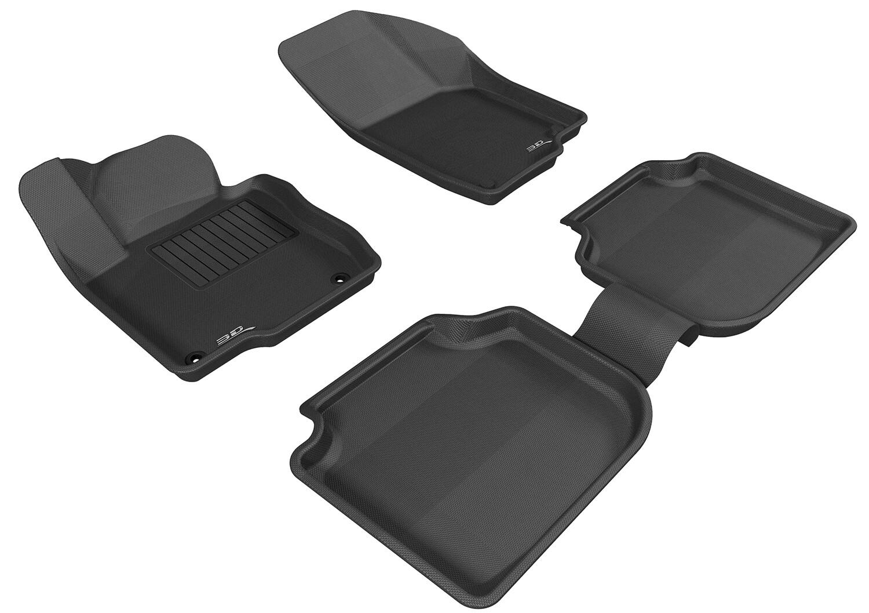 3D MAXpider Complete set VOLKSWAGEN PASSAT 2011-2017 KAGU Car floor Mat backing for US