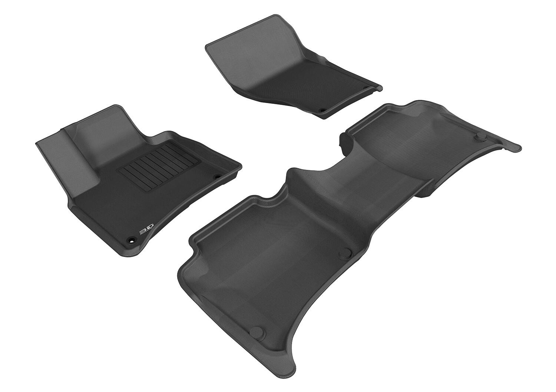3D MAXpider Complete set VOLKSWAGEN TOUAREG 2011-2017 KAGU Car floor Mat backing
