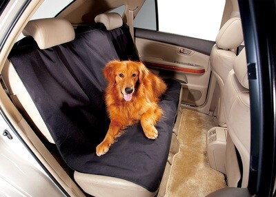 3D REAR Car Bench Seat dirt spills water mud and pet hair Protector