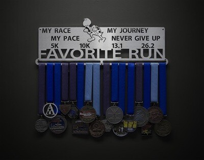 Favorite Run Display My Race My Pace My Journey