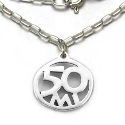 50 Mile Necklace Sterling Silver