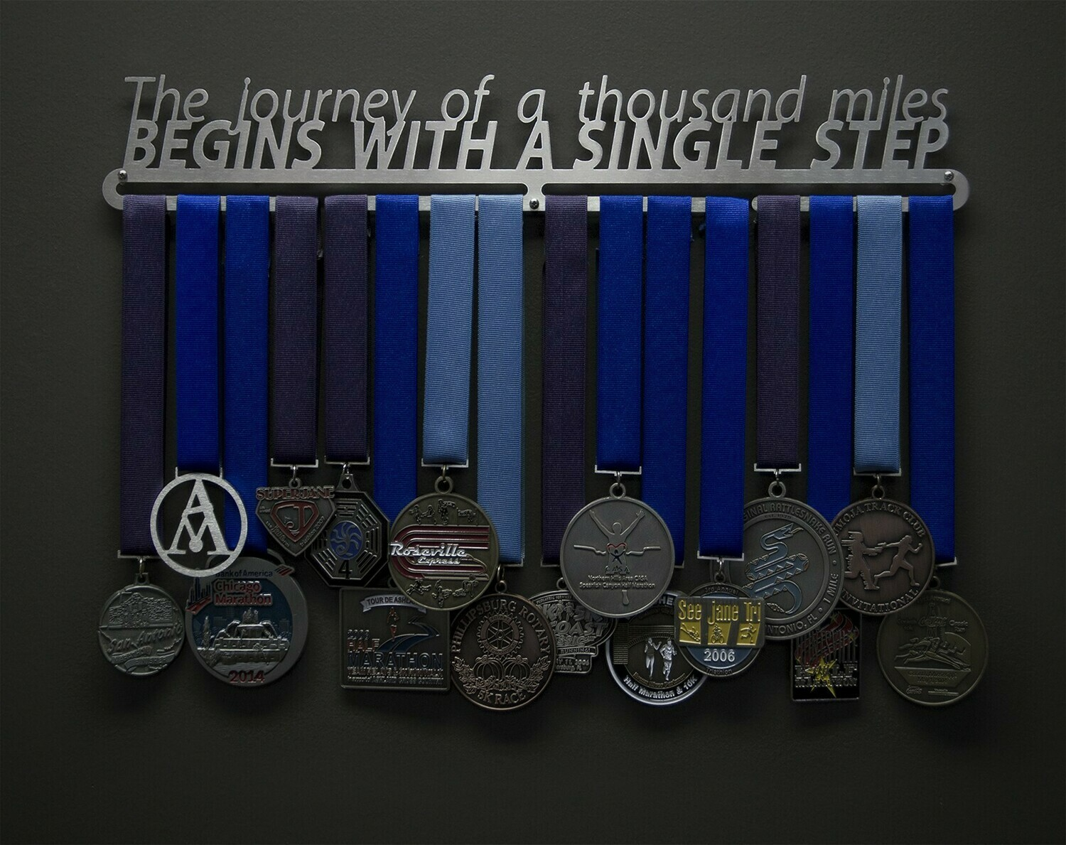 A journey of a thousand miles begins with one single step