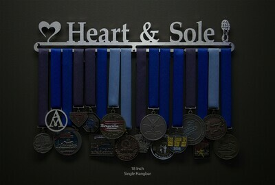 Medal Hanger Heart And Sole