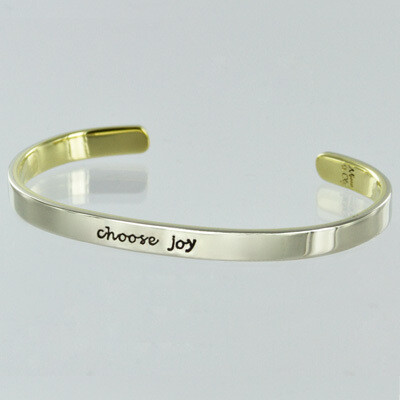 Cuff Bracelet - Choose Joy