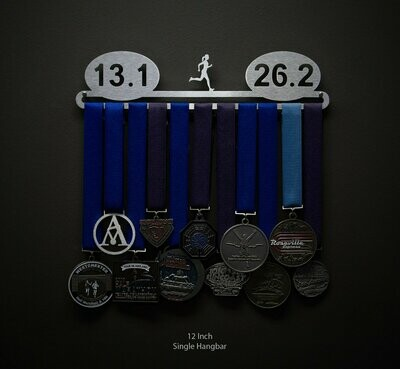 13.126.2 Female Runner Medal Display