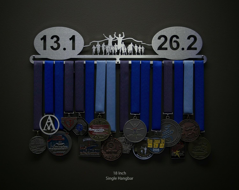 13.1 26.2 Runner Group Medal Hanger