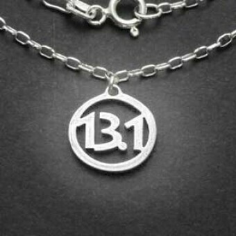 All Sterling Silver 13.1 Charm Necklace