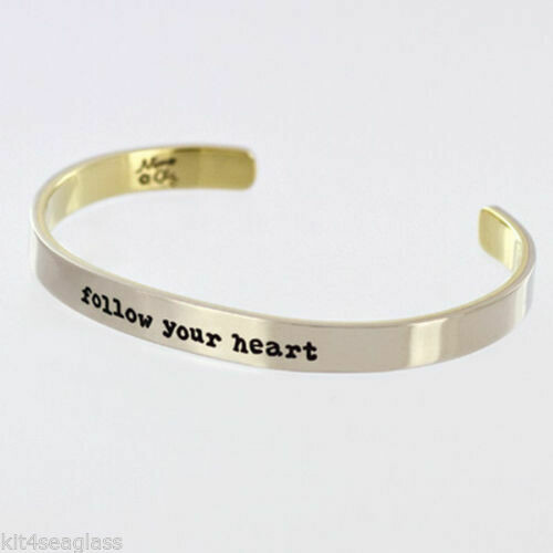 Cuff Bracelet Follow Your Heart