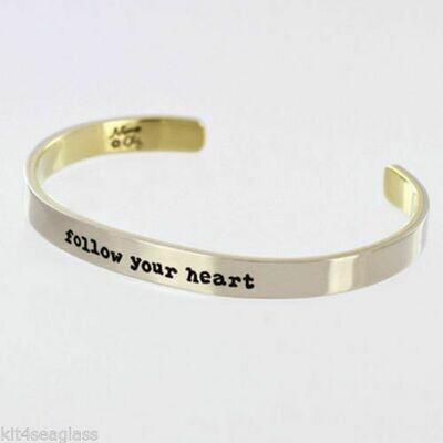 Cuff Bracelet Follow Your Heart