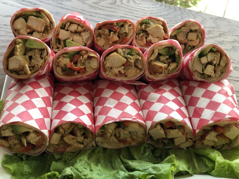 Chicken Avocado Tortilla Wrap