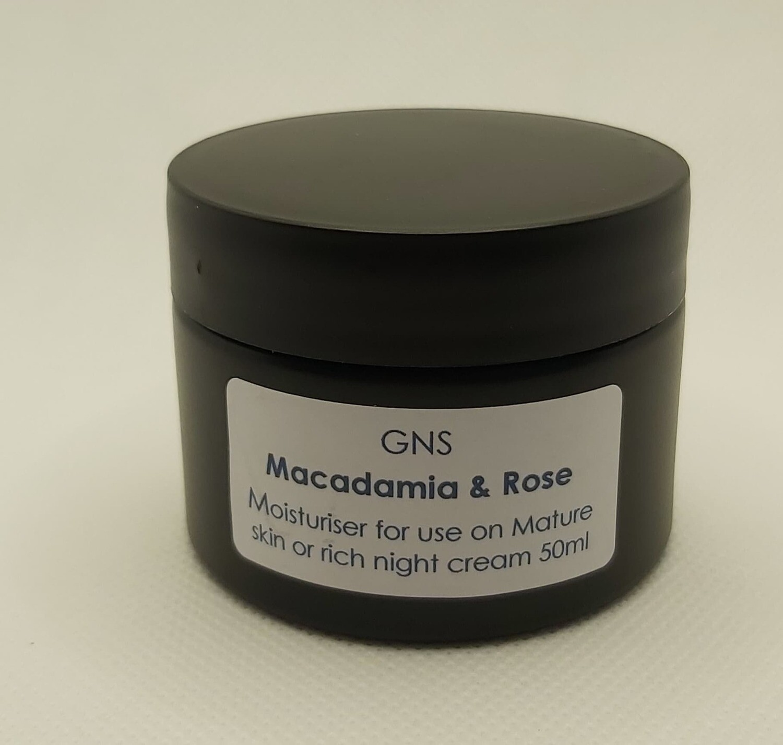 Macadamia & Rose Moisturiser