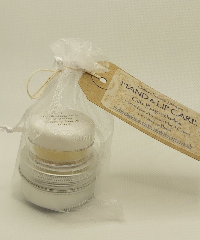 Hand and Lip Care gift bag