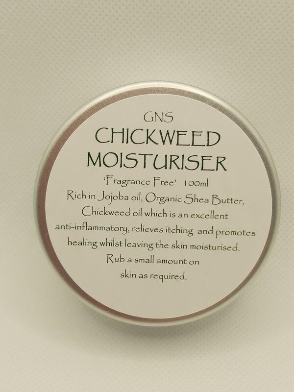 100ml Chickweed Moisturiser