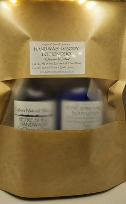 Handwash and Hand and Body Lotion Gift pack 'Refreshing'