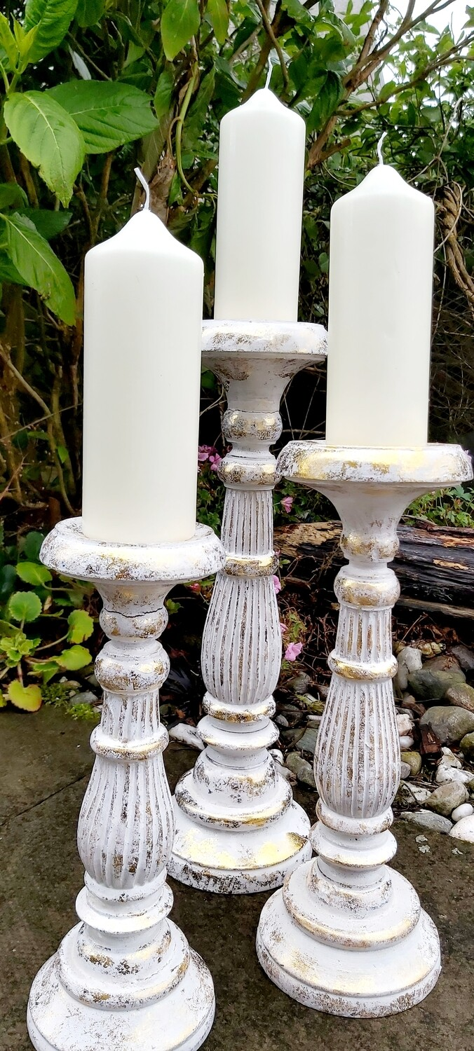 Set of 3 Candlesticks
