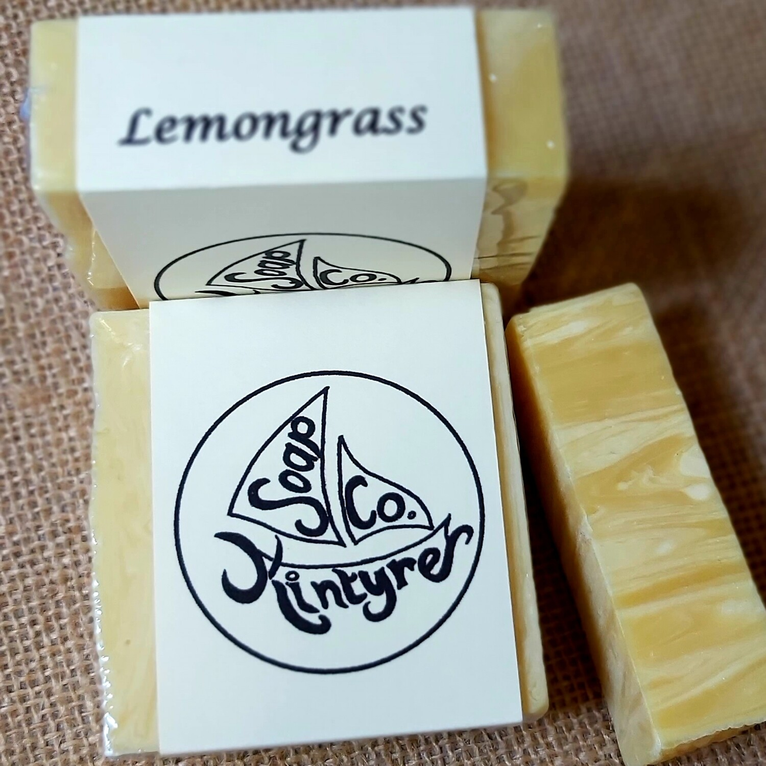 'Lemongrass' cold processed soap