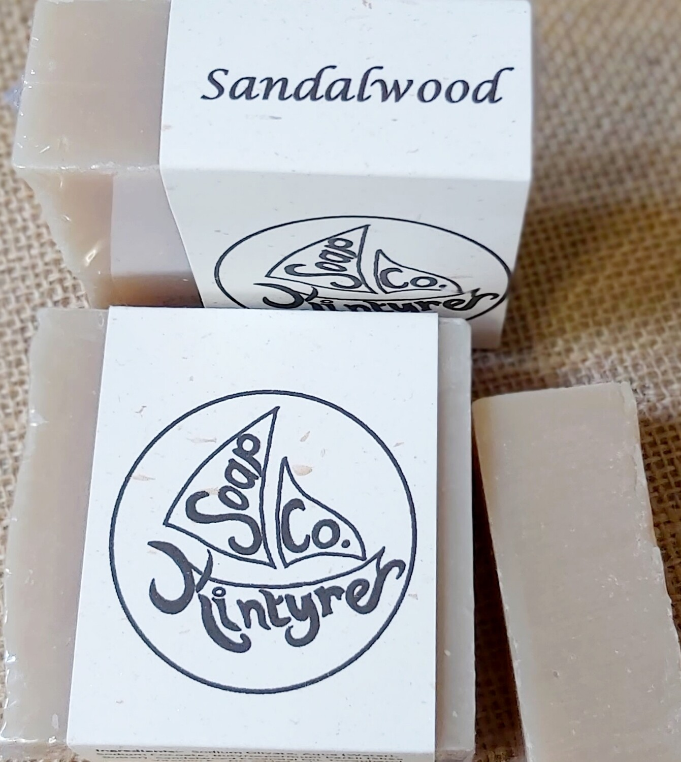 'Sandalwood' cold processed soap