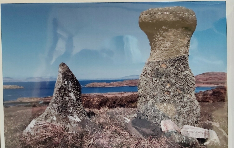 Bodach and Cailleach, Isle of Gigha