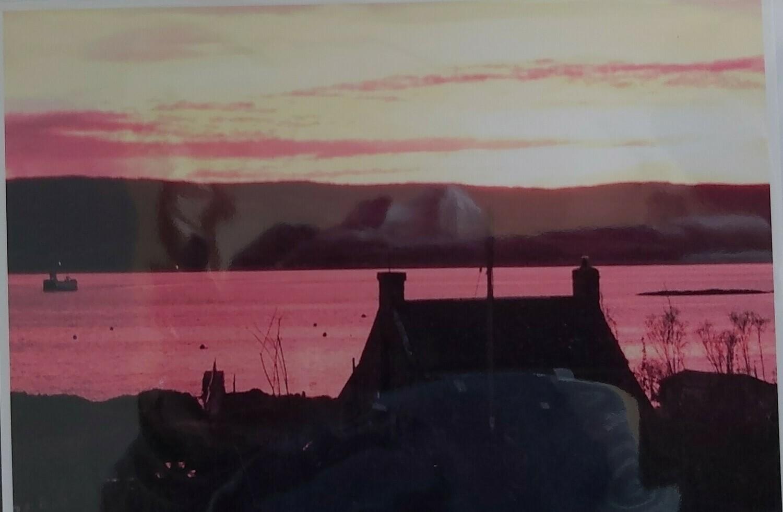 Boathouse and MV Loch Ranza, Isle of Gigha