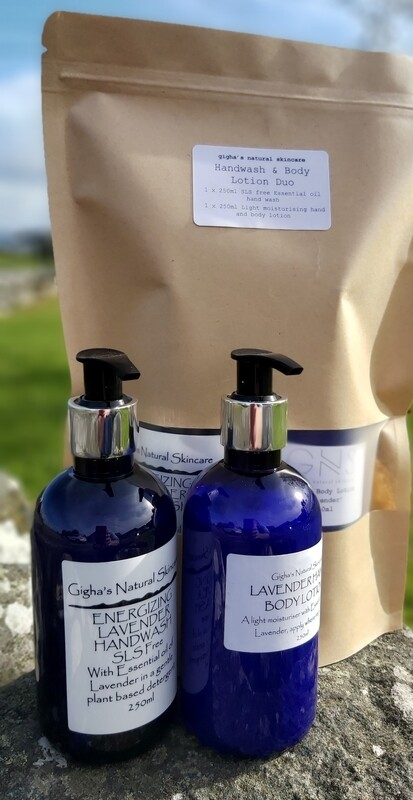 Lavender Handwash and Hand and Body Lotion Duo pack
