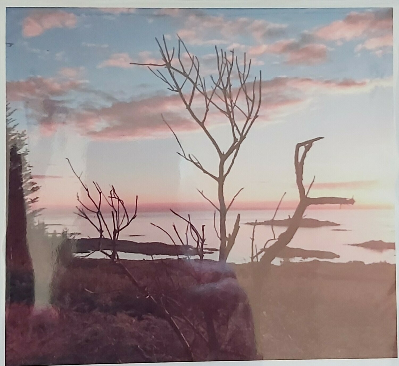 Sunset over Islay from Isle of Gigha