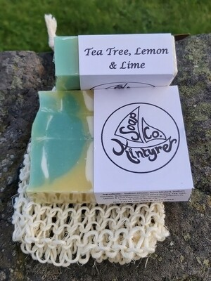 Tea tree, Lemon & Lime