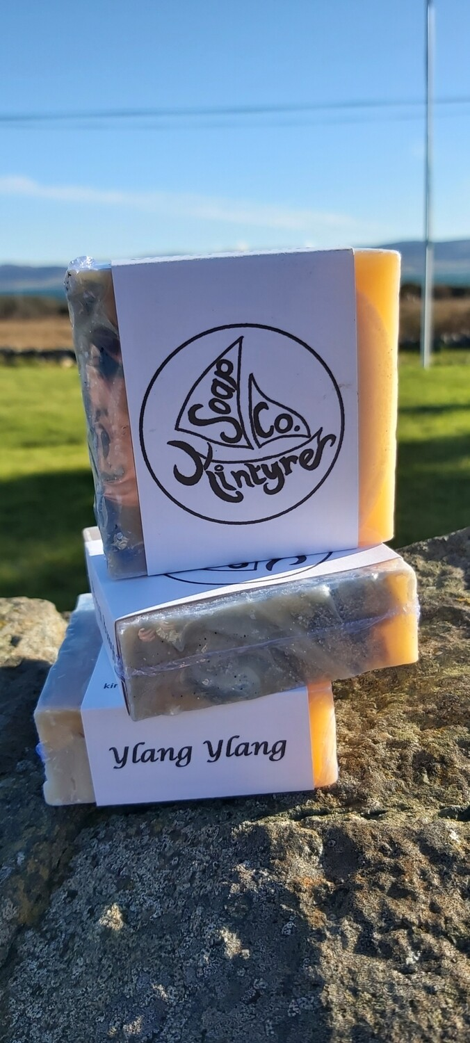 'Ylang ylang' cold pressed soap