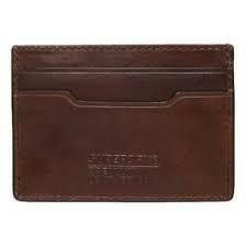 Tarjetero Leather Card Holder